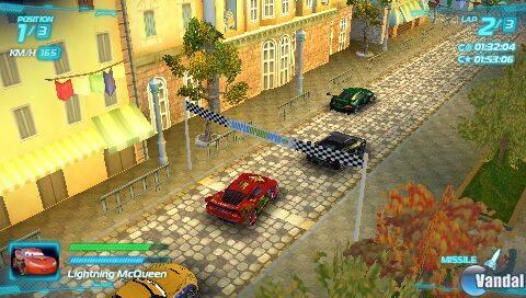 Nuevas imágenes de Cars 2: El Videojuego