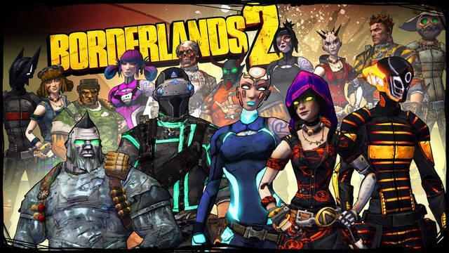 Borderlands 2 recibe hoy nuevos aspectos descargables en Xbox 360 y PC