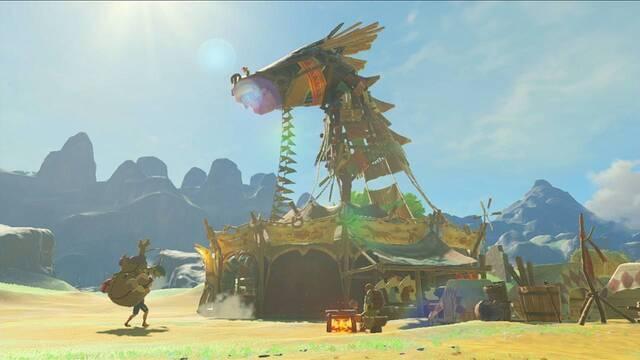 The Legend of Zelda: Breath of the Wild nos ofrece un nuevo aperitivo en forma de imagen