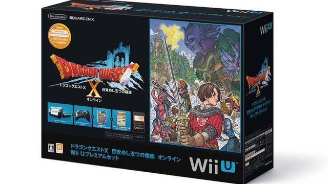 Presentado el pack de Wii U y Dragon Quest X para Japón