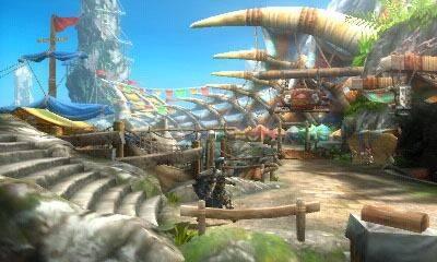Comparativa gráfica de Monster Hunter 3 Ultimate en 3DS y Wii U