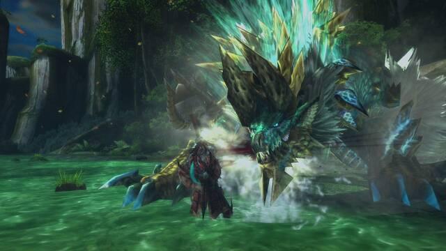 Zinogre protagoniza las nuevas imágenes de Monster Hunter 3 Ultimate