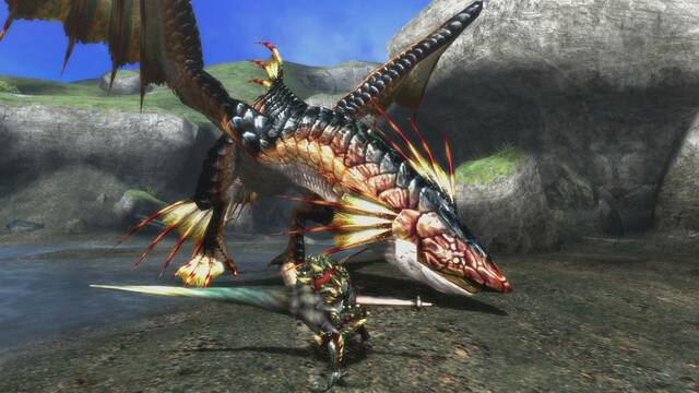 Plesioth regresará en Monster Hunter 3 Ultimate