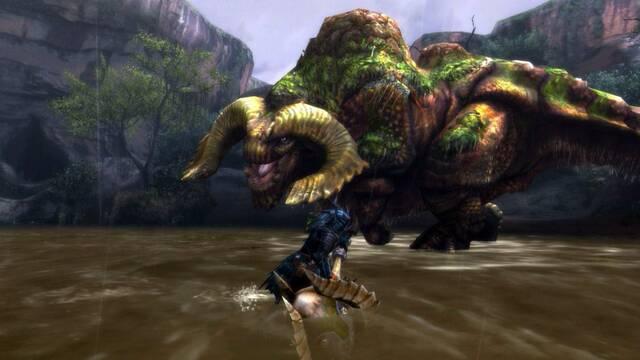 A la caza del Duramboros en las nuevas im�genes de Monster Hunter 3 Ultimate