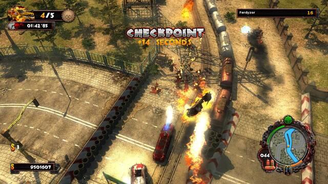 Trailer e im�genes de Zombie Driver HD para PlayStation Network