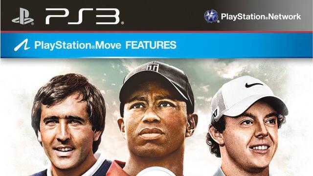 Presentada la portada de Tiger Woods PGA Tour 14 con Seve Ballesteros