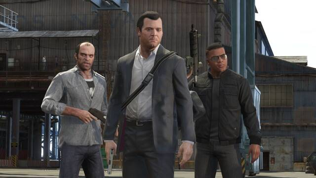 Grand Theft Auto V sigue mostr�ndose en im�genes