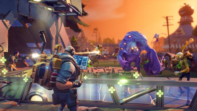 Fortnite en PS4 tendrá cuatro héroes exclusivos