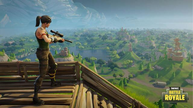 Fortnite presenta su modo 'battle royale' con hasta 100 jugadores
