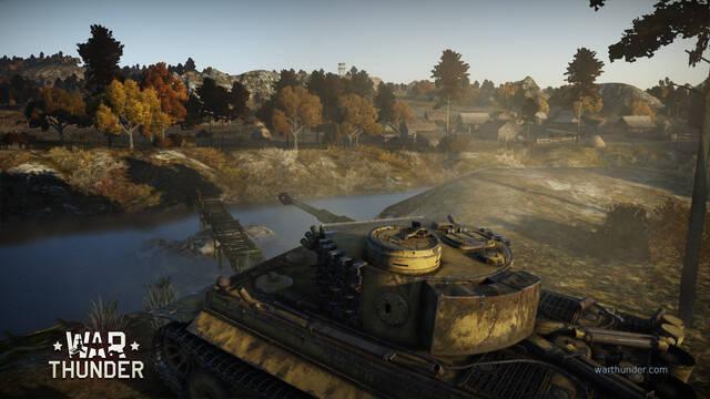 War Thunder muestra sus nuevas unidades de tierra
