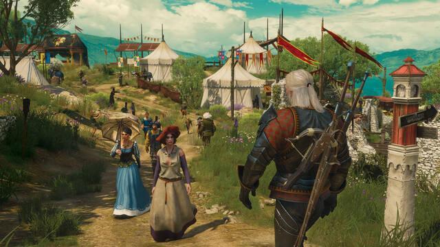 CD Projekt prepara nueva actualización de The Witcher III para PS4 Pro