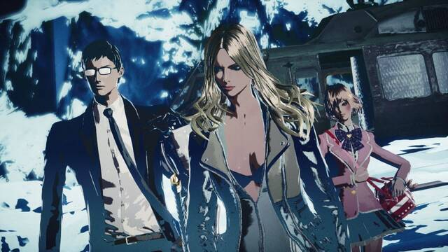 Oleada de im�genes de Killer is Dead