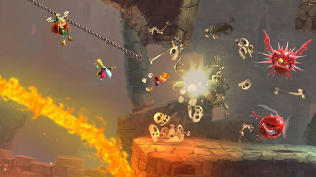 Tr�iler de lanzamiento de Rayman Legends