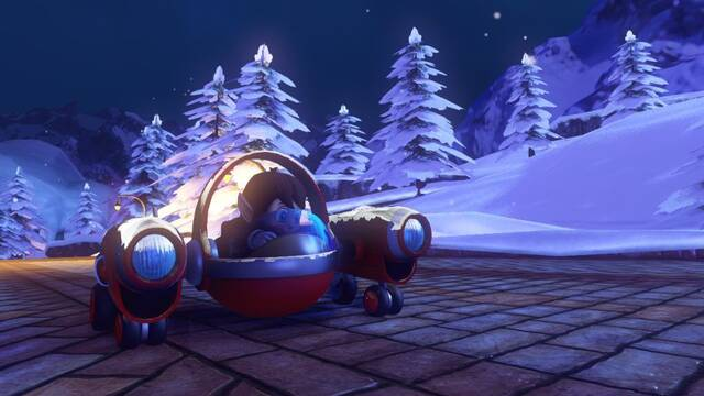 Alex Kidd se suma a Sonic & All-Stars Racing Transformed por Navidad