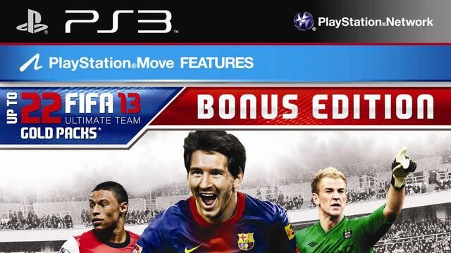 Anunciada la 'Bonus Edition' de FIFA 13