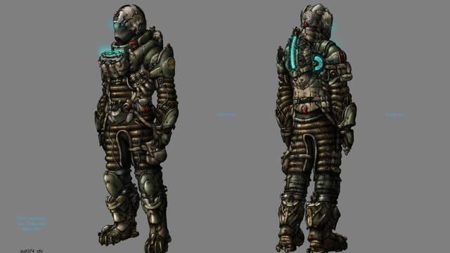 Nuevas ilustraciones de Dead Space 3