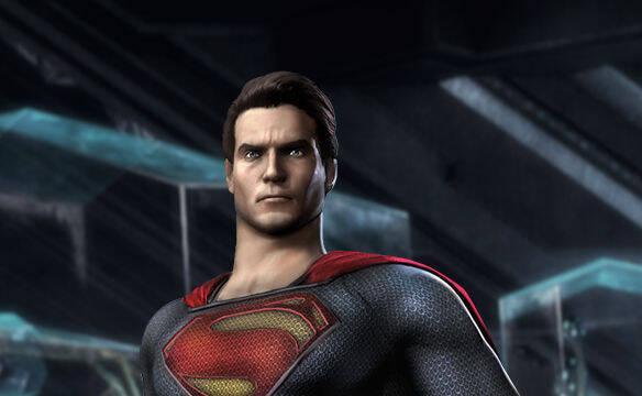 Superman vestir� su traje de la pel�cula El Hombre de Acero en Injustice: Gods Among Us
