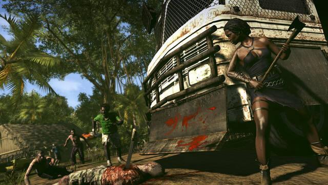 Dead Island: Riptide se sigue mostrando en imágenes