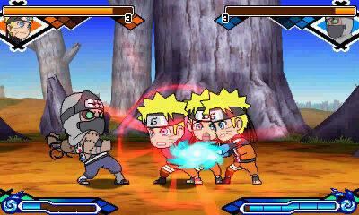 Naruto SD: Powerful Shippuden nos muestra nuevas capturas de su jugabilidad