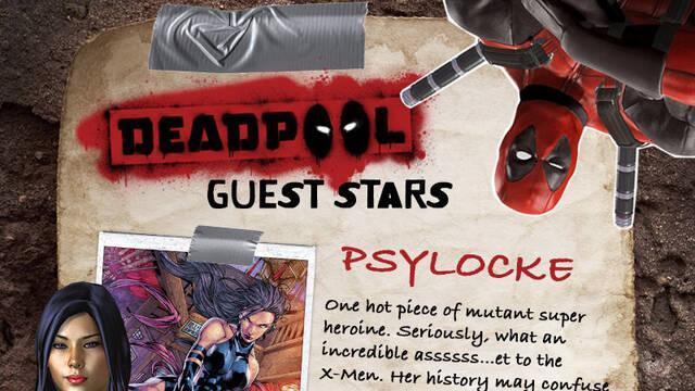Mr. Siniestro y Psylocke confirman su presencia en el juego de Masacre