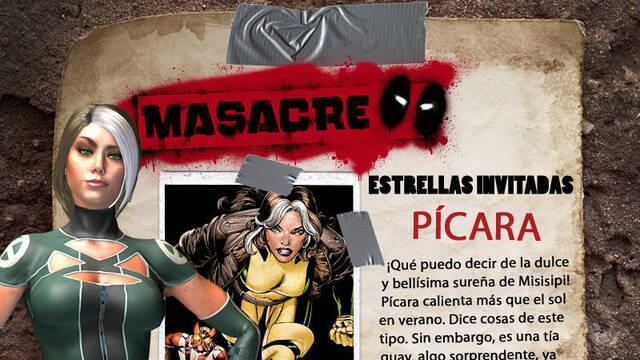 Pícara confirma su presencia en el videojuego de Masacre