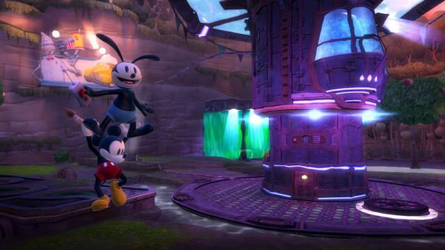 Nuevas im�genes de Epic Mickey 2: El retorno de d�s h�roes