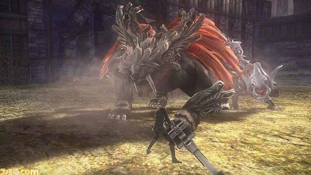 Primeras imágenes de God Eater 2 para PS Vita.