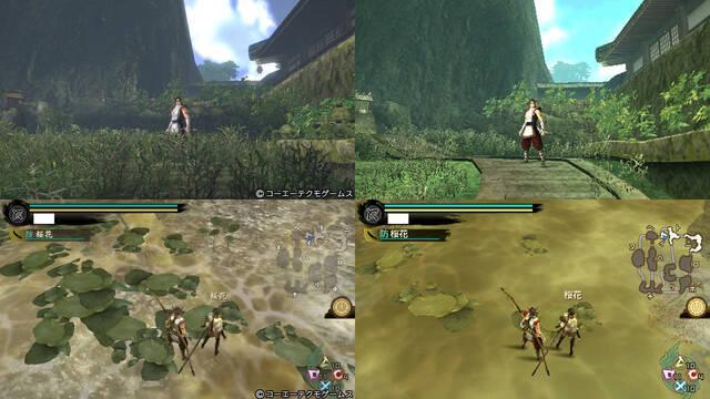 Toukiden compara sus versiones en nuevas imágenes