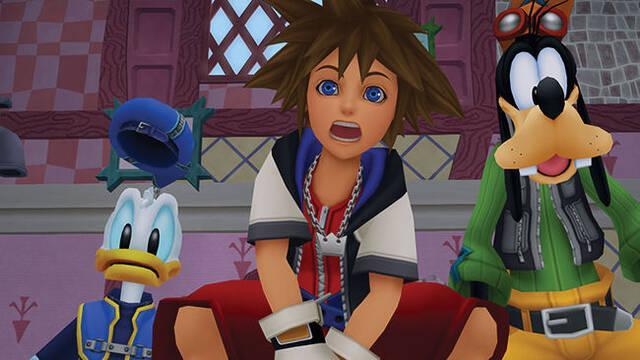 Primeras im�genes de Kingdom Hearts HD 1.5 ReMIX