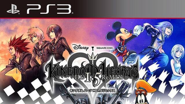 Revelada la portada de Kingdom Hearts HD 1.5 ReMIX