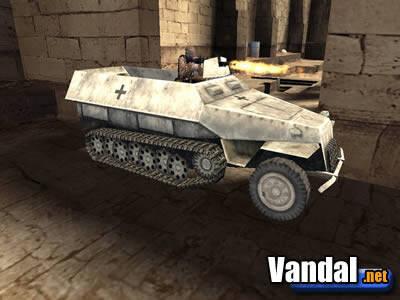 Call of Duty: Finest Hour: Los vehículos