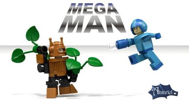 Lego y Mega Man podrían unirse