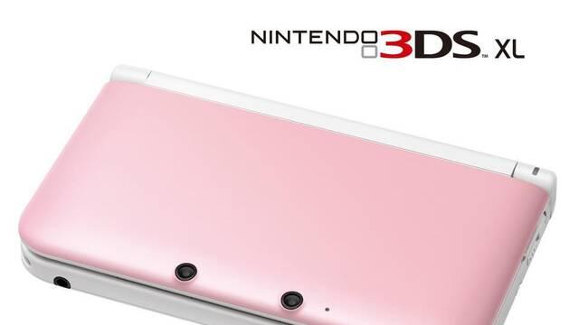 La Nintendo 3DS XL rosa volverá a Estados Unidos por el Día de San Valentín