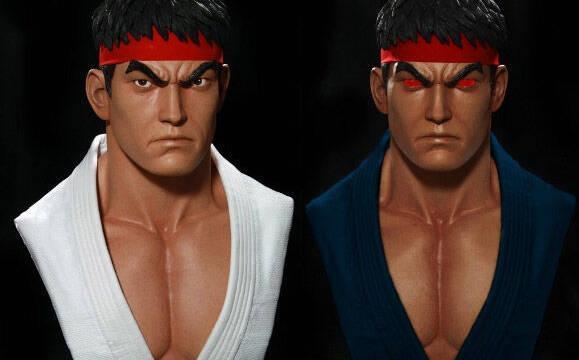 Comercializan un busto a tamaño real de Ryu
