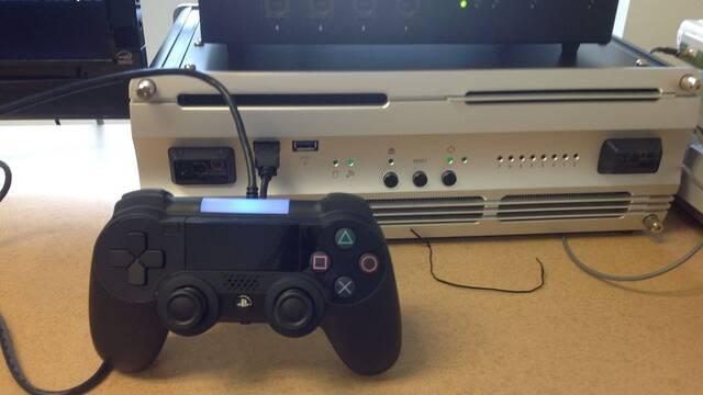 Se filtra una supuesta foto del mando de PlayStation 4