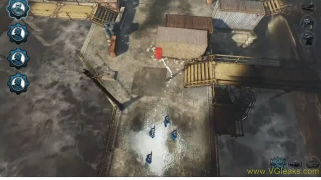 Se filtran im�genes de un Gears of War: Tactics cancelado