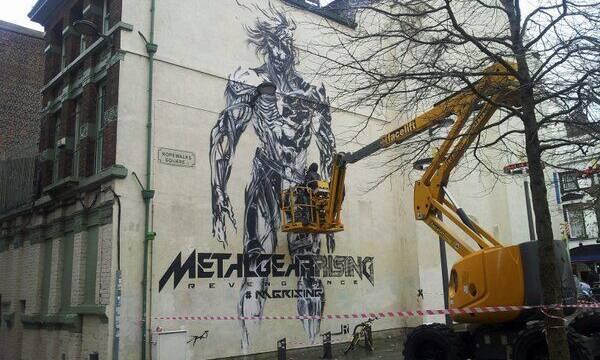 Liverpool recibe un mural gigante de Metal Gear Rising