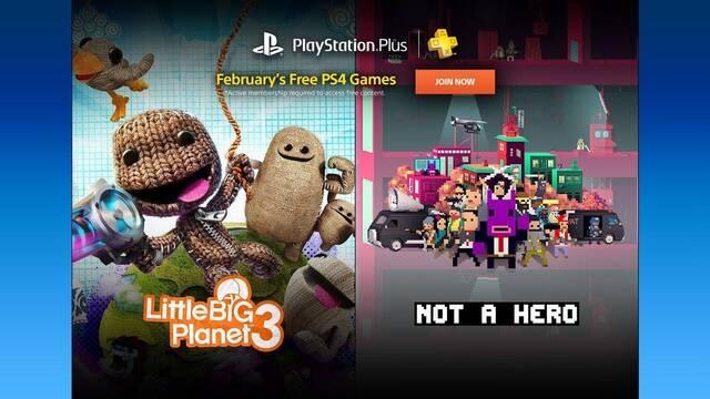 Estos son los juegos gratis de PS Plus para febrero de 2017