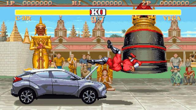 El nuevo anuncio de Toyota enfrenta a M. Bison con un coche