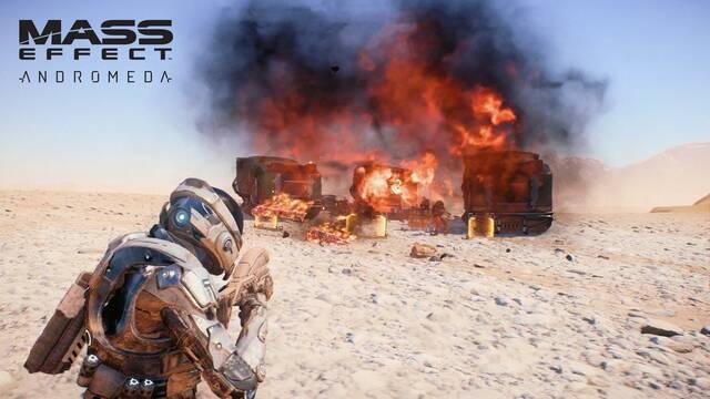 Mass Effect Andromeda detalla en vídeo su sistema de combate