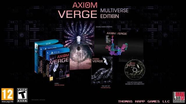Axiom Verge contará con edición física para PS4, PS Vita y Wii U