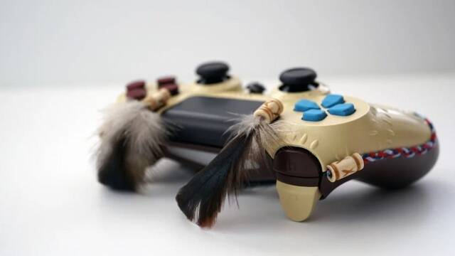 Diseñan un DualShock 4 inspirado en Horizon: Zero Dawn