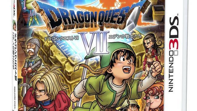 Desvelada la portada japonesa de Dragon Quest VII