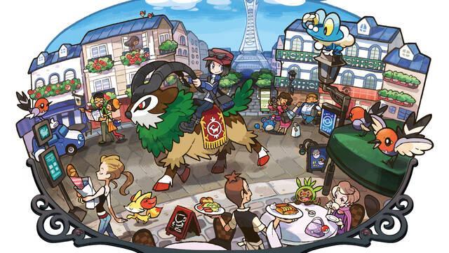 Nuevo tráiler e imágenes de Pokémon X/Y