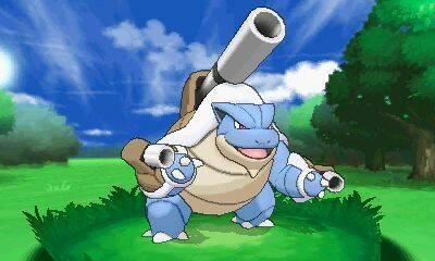 Mega Charizard, Mega Venusaur y Mega Blastoise se muestran en imágenes