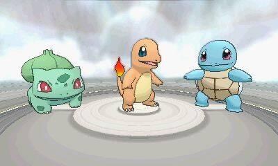 Los tres Pokémon iniciales de Rojo y Azul retornan en Pokémon X/Y