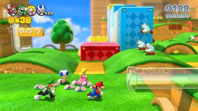 Super Mario 3D World se podr� jugar con el mando Pro Controller