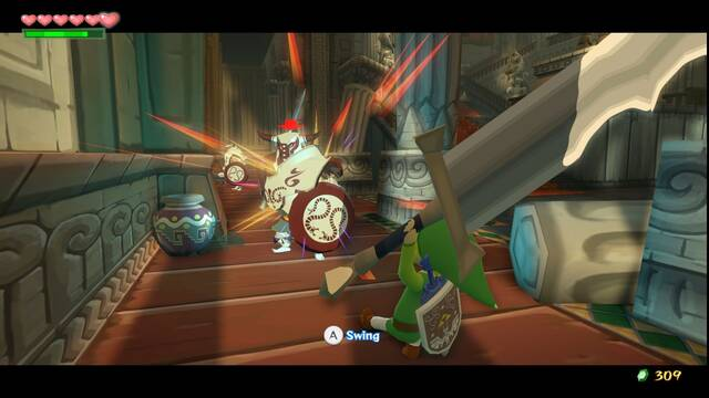 The Legend of Zelda: The Wind Waker HD se muestra en nuevas im�genes
