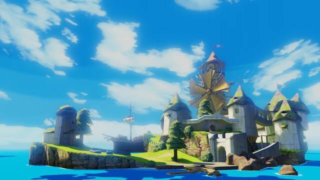 Un nuevo Zelda y un remake de Wind Waker para Wii U; primeras im�genes