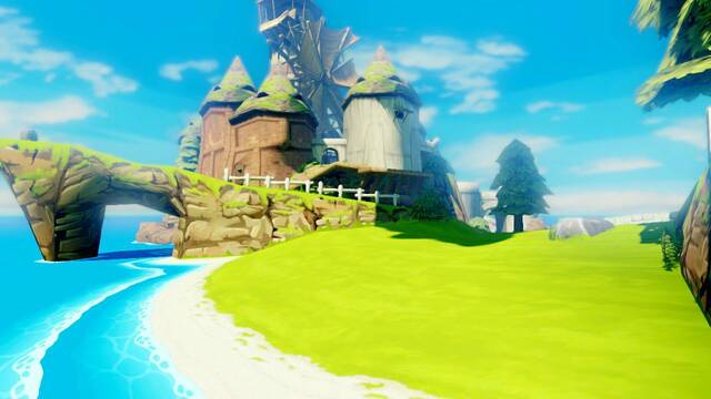 Comparativa gr�fica de The Legend of Zelda: Wind Waker